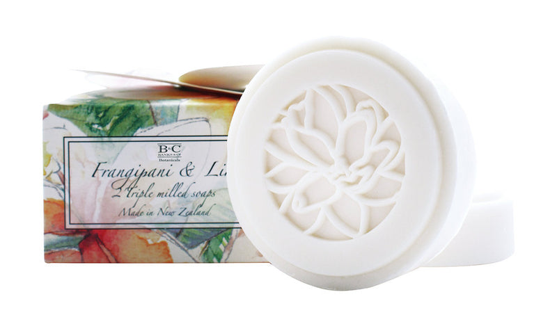 Frangipani & Lime Luxury 2 x Boxed Soaps - Kiwi Collections