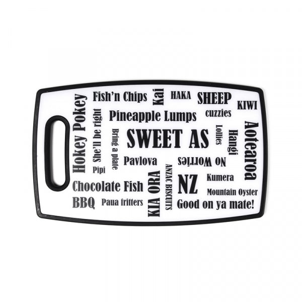 CHOPPING BOARD - KIWIANA 370X230MM - Kiwi Collections