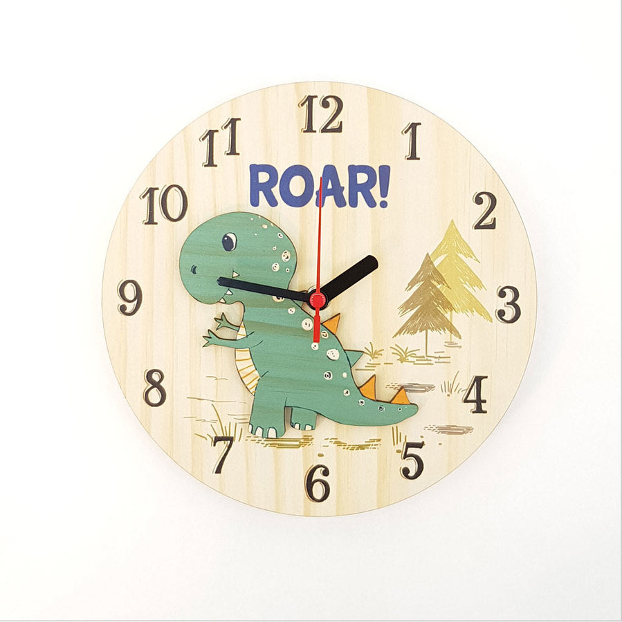 Clock: Roar (Pine) - Clocks
