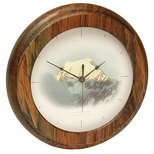 CLOCK, RIMU - MOUNT COOK - Kiwi Collections
