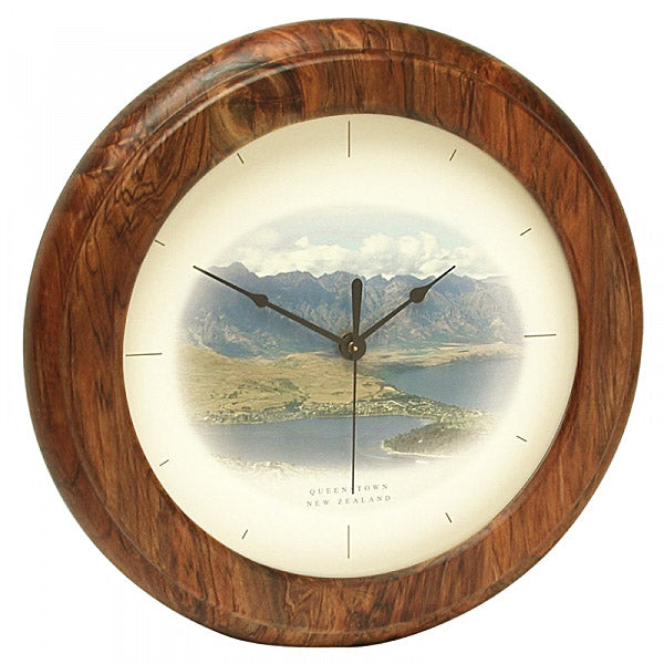 CLOCK, RIMU - QUEENSTOWN - Kiwi Collections
