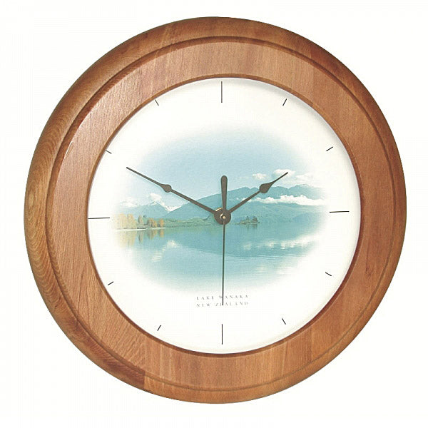 CLOCK, RIMU - WANAKA - Kiwi Collections