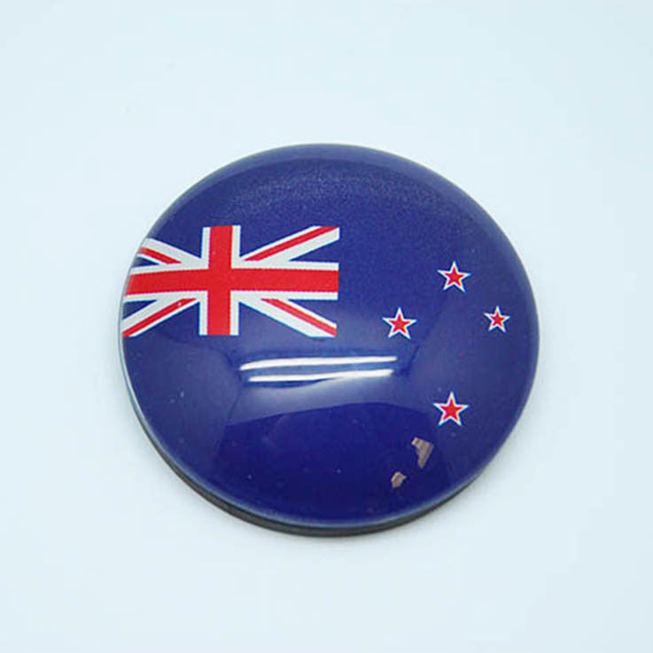 Glass Magnet - Flag/New Zealand - Kiwi Collections