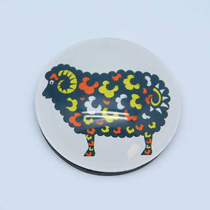 Glass Magnet - Sheep - Kiwi Collections
