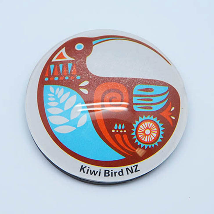 Glass Magnet - Kiwi Bird - Kiwi Collections