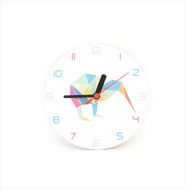 Clock : Kiwi Geometric Clock White - Clocks