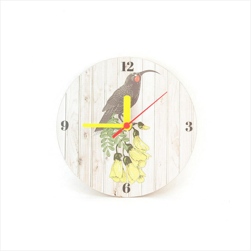 Clock: Huia Light Wood - Clocks
