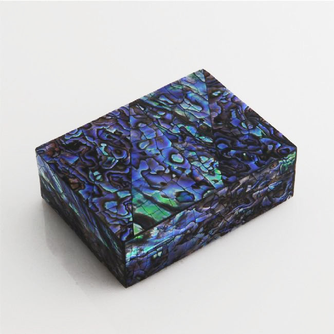 Medium Paua Cracking Jewellery Box - Kiwi Collections