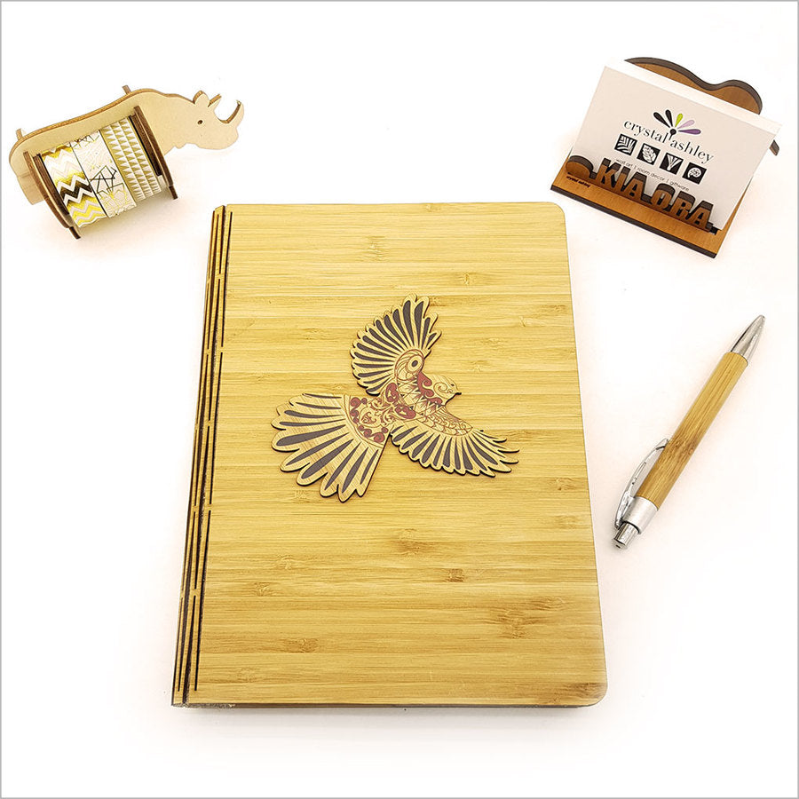Bamboo Journal: Printed KWW Fantail