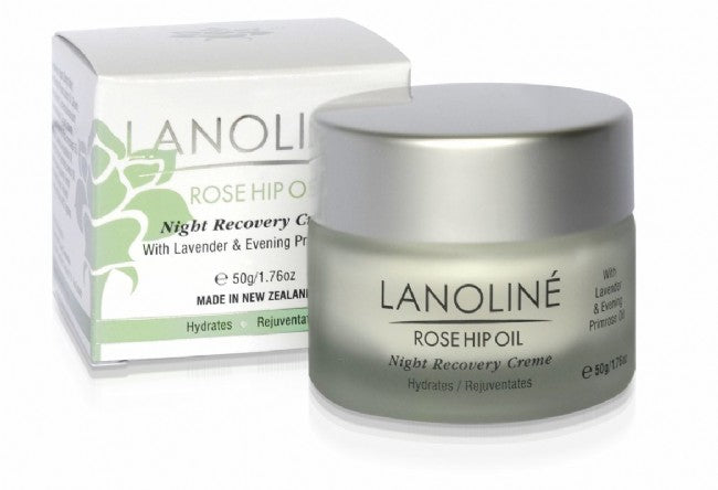 Rosehip Oil Night Recovery Creme - Kiwi Collections