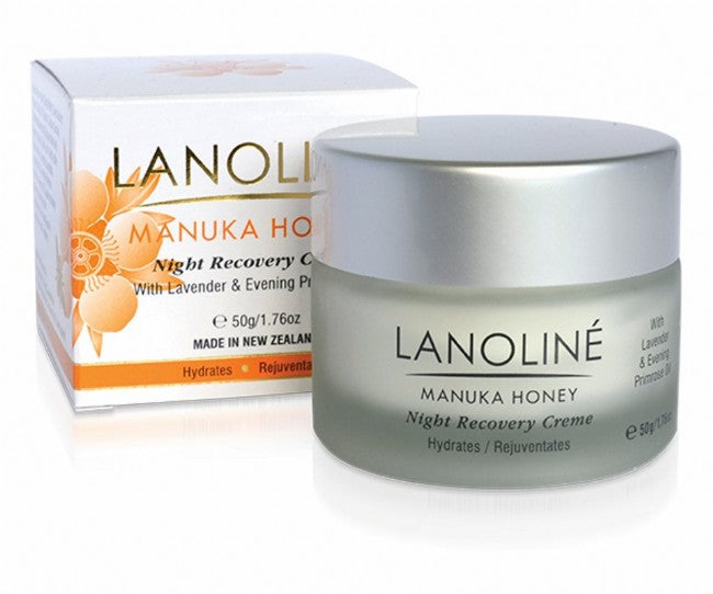 Manuka Honey Night Recovery Creme - Kiwi Collections