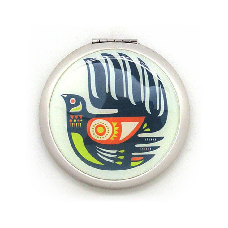 Pocket mirror - Fantail - Kiwi Collections