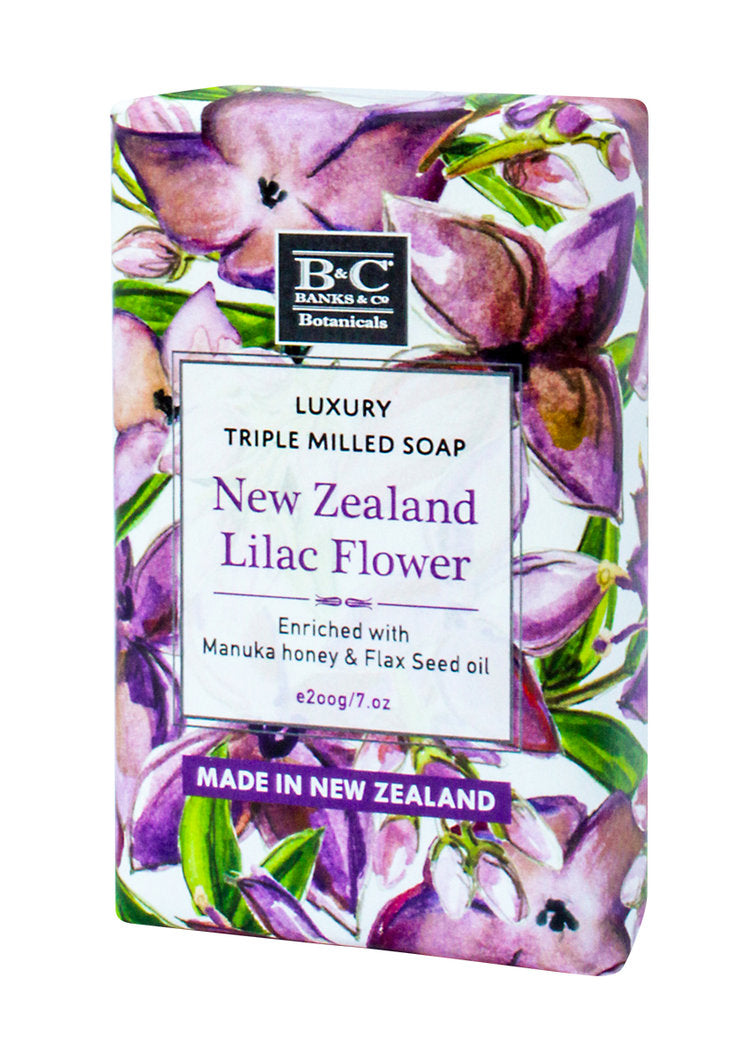 NZ Lilac Luxury Soap - Kiwi Collections