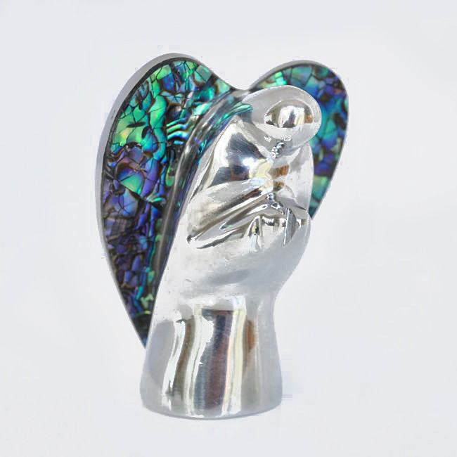 Paua Angel Ornament - Kiwi Collections