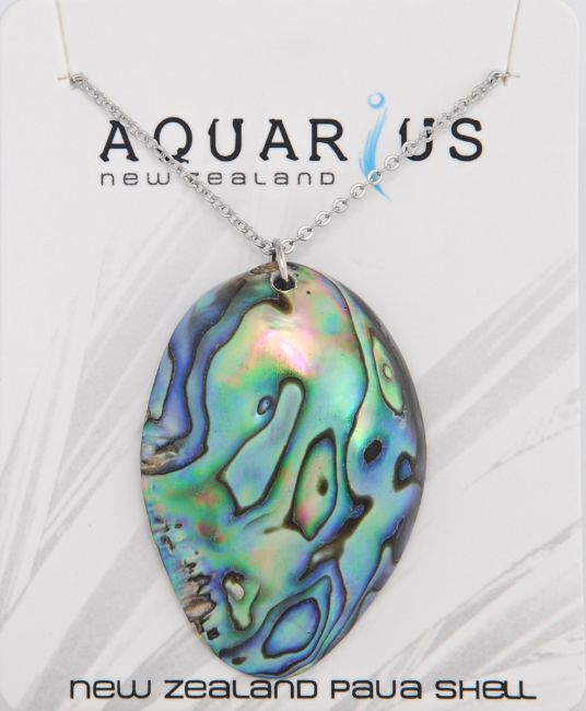 Paua Pod Pendant - Kiwi Collections