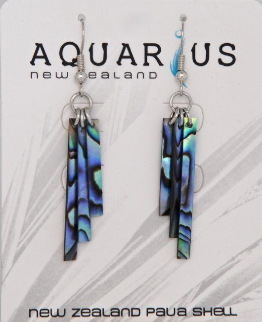 Paua Wind Chime Hook Er - Kiwi Collections