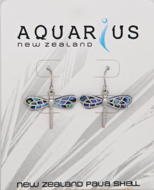 Paua Dragonfly Er - Kiwi Collections