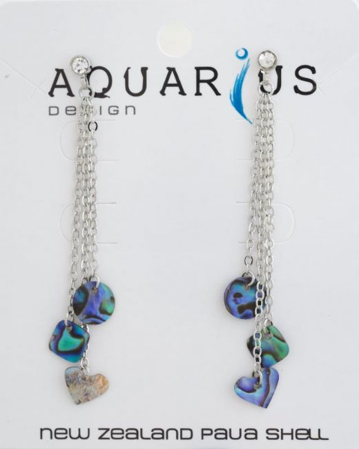 Paua Dangling Charms ER - Kiwi Collections