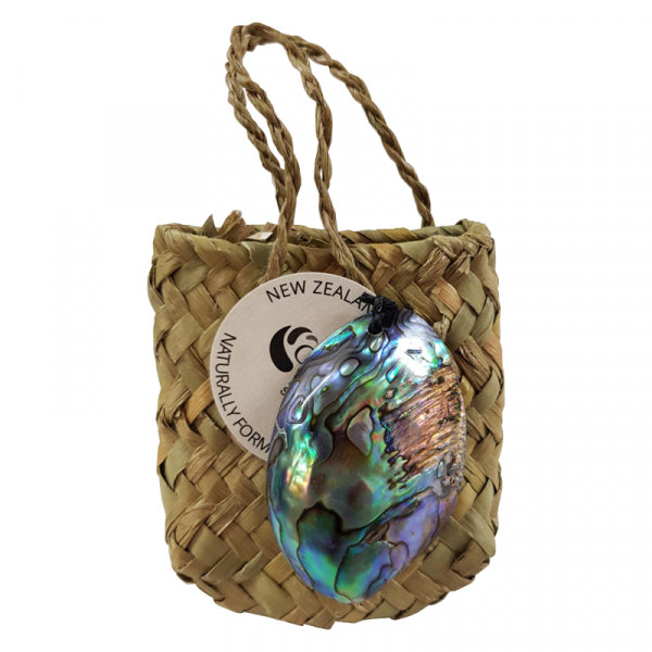 PAUA GEM AND KETE BAG