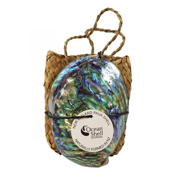 PETITE PAUA SHELL AND KETE BAG