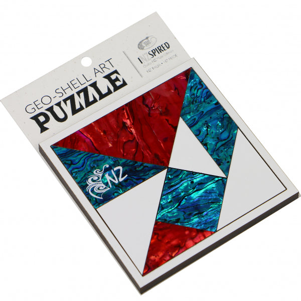 PUZZLE GEO-SHELL ART - SUMMER - Kiwi Collections