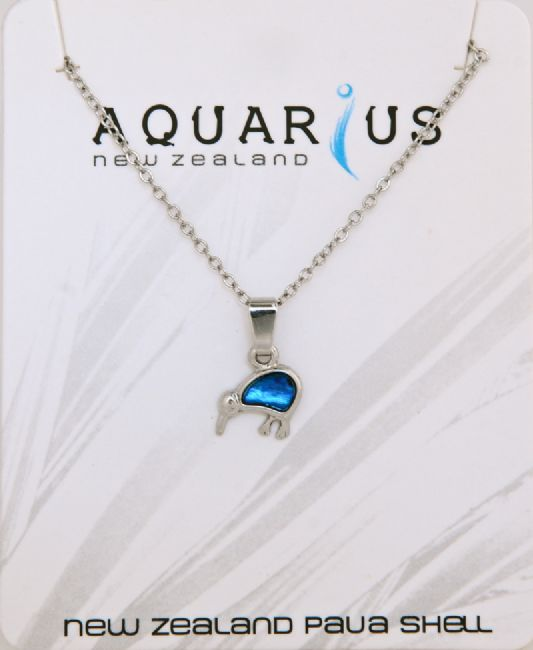 Blue Kiwi Pendant - Kiwi Collections