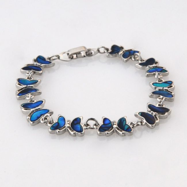 Blue Butterfly Bracelet - Kiwi Collections