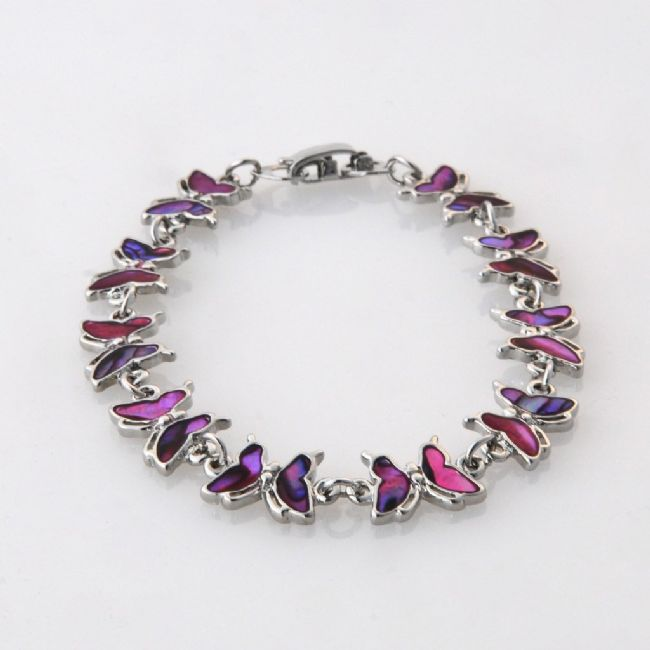 Pink Butterfly Bracelet - Kiwi Collections