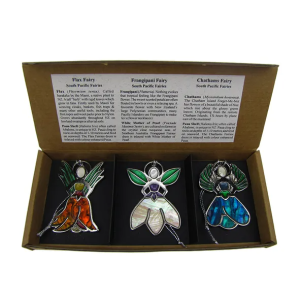 SOUTH PACIFIC COASTAL FAIRIES - DECORATION - TRIO SET