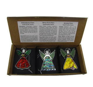 SOUTH PACIFIC FAIRIES - DECORATION - TRIO SET