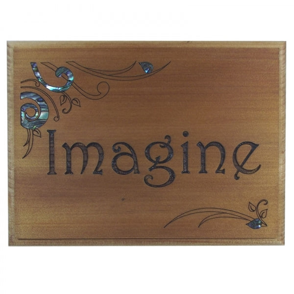 TRIVET/WALL ART - IMAGINE - Kiwi Collections