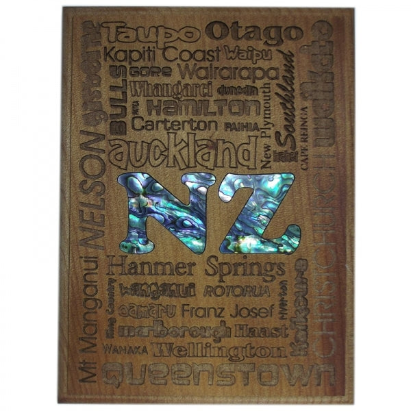 TRIVET/WALL ART - NZ DESTINATIONS - Kiwi Collections