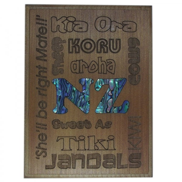 TRIVET/WALL ART - NZ ICONS - Kiwi Collections