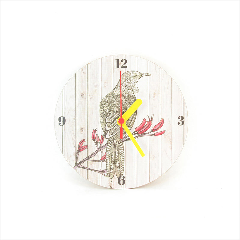 Clock: Tui Light Wood - Clocks