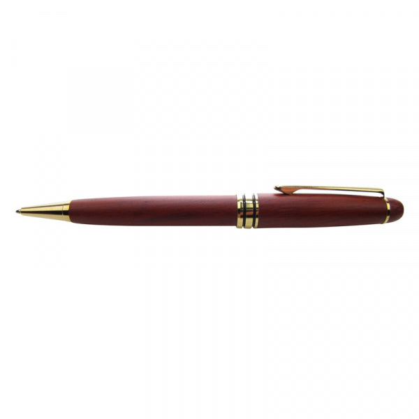 WOODEN PEN ROSEWOOD MONT BLANC STYLE - Kiwi Collections