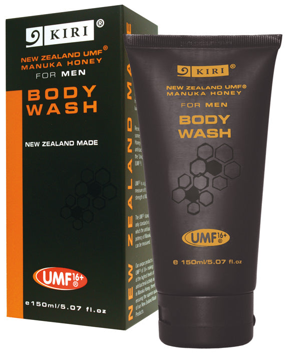 Kiri Body Wash - UMF® Manuka Honey for Men - Kiwi Collections