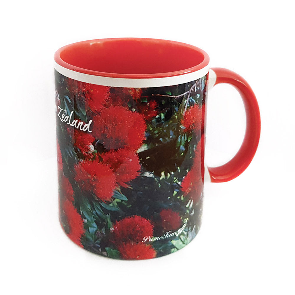 Pohutukawa Coffee Mug - 330ml - Kiwi Collections