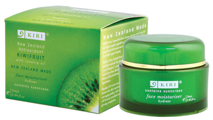 Kiri Face Moisturiser - Antioxidant Kiwifruit - Kiwi Collections