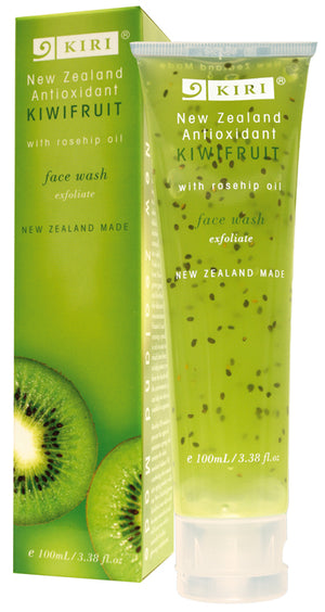 Kiri Face Wash - Antioxidant Kiwifruit - Kiwi Collections