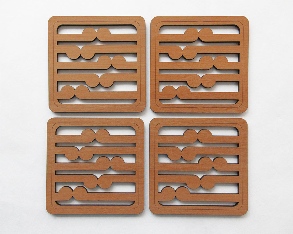Coasters : Rimu Koru - Kiwi Collections