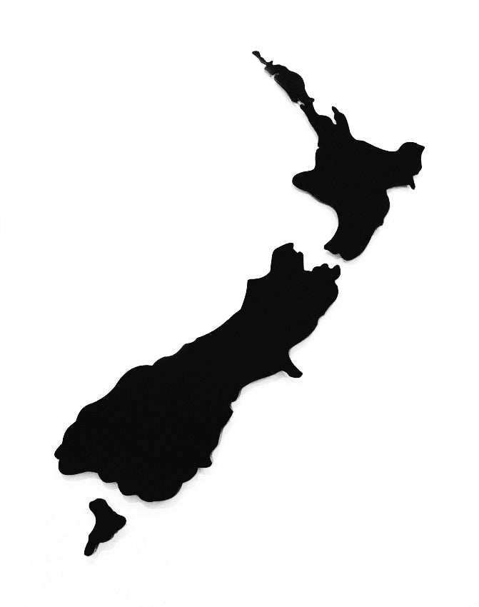 ACM Art NZ Map-Plain Large - Kiwi Collections