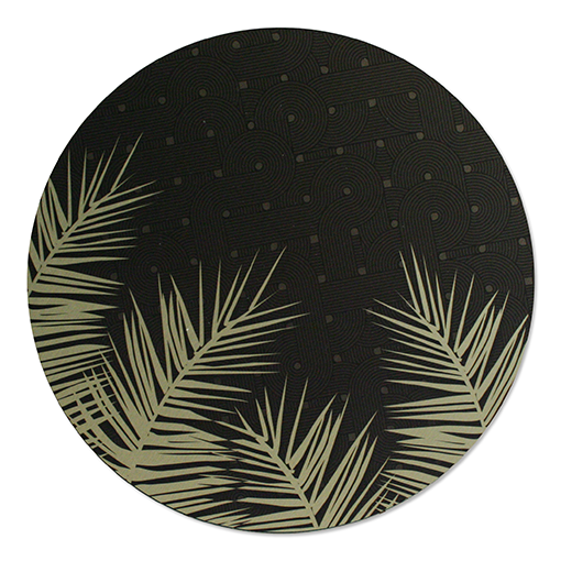 ACM Brushed Circles: Palm Leaves - Kiwi Collections