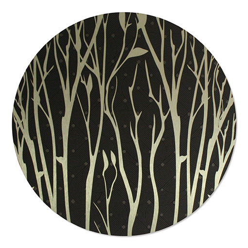 ACM Brushed Circles: Branches - Kiwi Collections