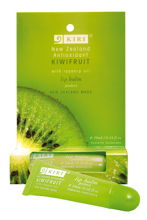 Kiri Lip Balm - Antioxidant Kiwifruit - Kiwi Collections
