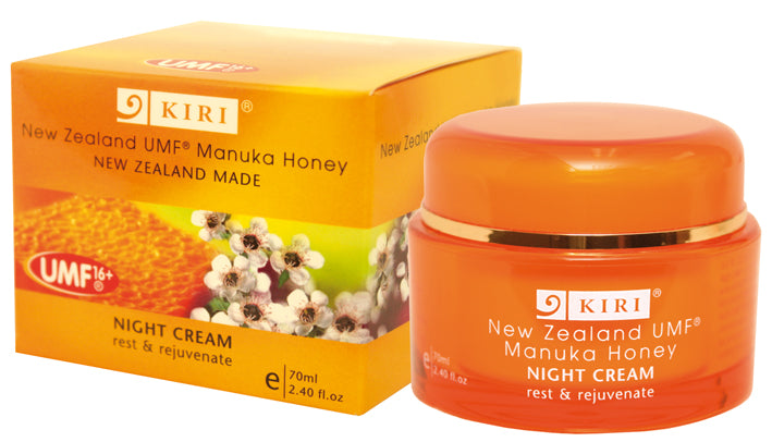 Kiri Night Cream - UMF® 16+ Manuka Honey - Kiwi Collections