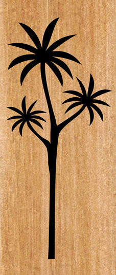 ACM Art Panel : Cabbage Tree - Kiwi Collections