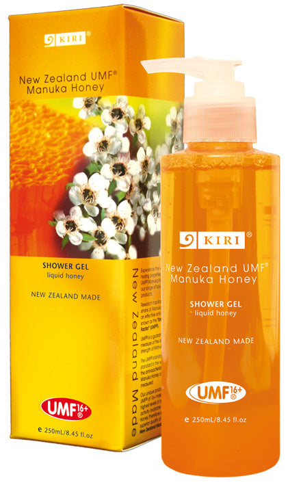 Kiri Shower Gel - UMF® 16+ Manuka Honey - Kiwi Collections