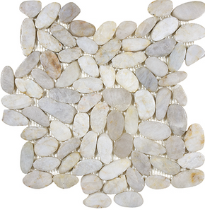 Zen Fiji Cream Flat Pebble