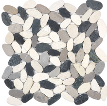 Load image into Gallery viewer, Ankara Pebbles Tranquil Cool Blend