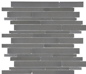 Random Strip Stainless Steel Mosaic